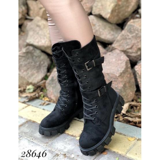 Ботинки высокие зимние