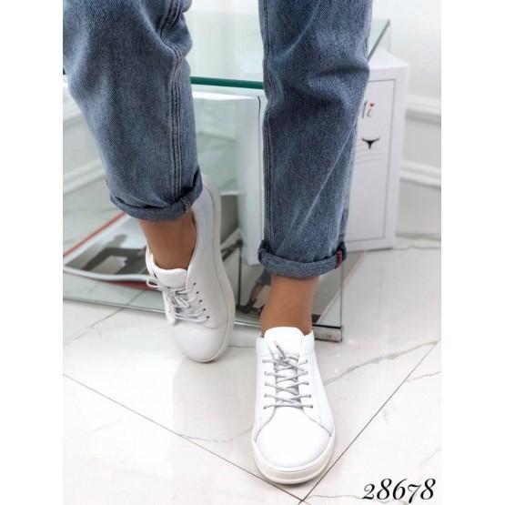 Кеды на шнурках класические  Nina_mi