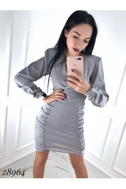 Платье люрекс.