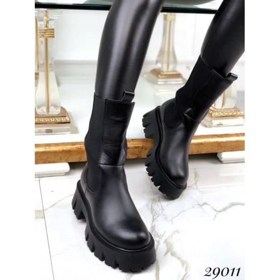 Ботинки высокие c резинкой