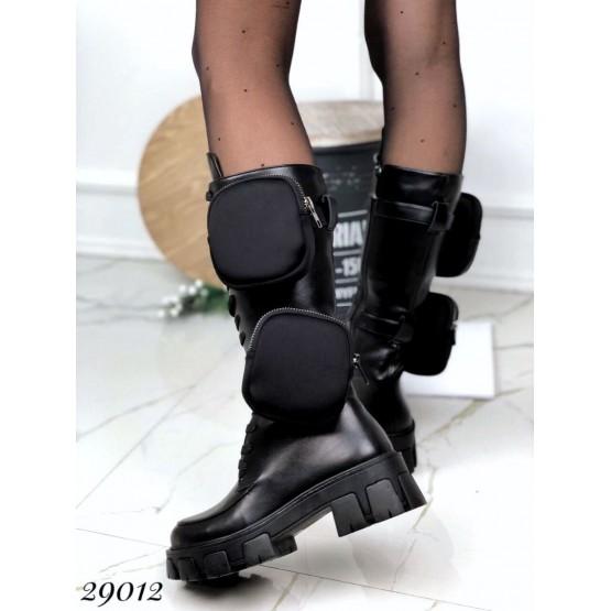 Ботинки демисезонные, на тракторной подошве