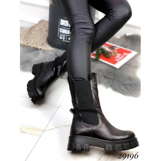 Ботинки высокие c резинкой,