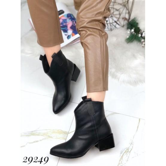 Ботинки казаки зимние