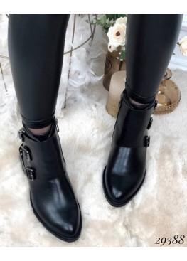 Ботинки демисезон на маленьком каблуке