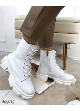 Ботинки демисезонные на тракторной подошве