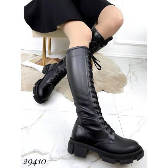 Сапоги демисезон на шнуровке NINA_MI