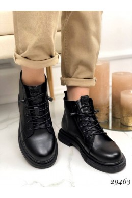 Ботинки короткие, язычек камни