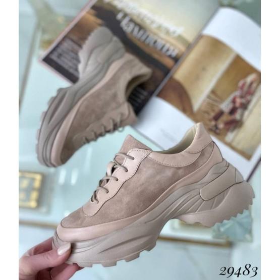 Кроссовки на обьемной подошве NINA_MI