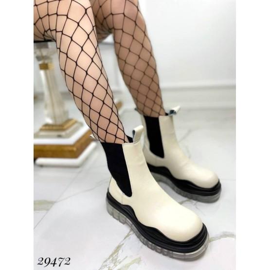 Ботинки  на резинках
