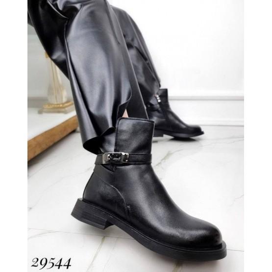Ботинки демисезон с замком сбоку