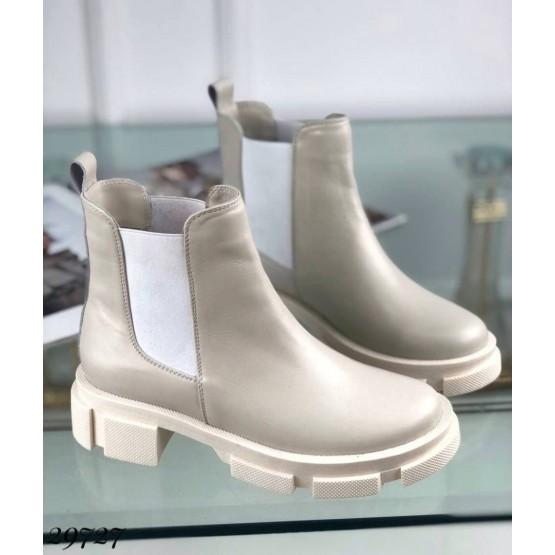 Ботинки челси без молнии NINA_MI