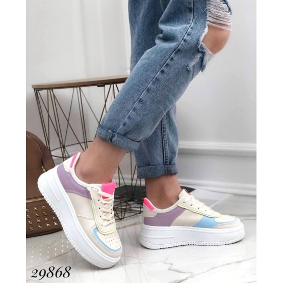 Кроссовки Air с цветными вставками