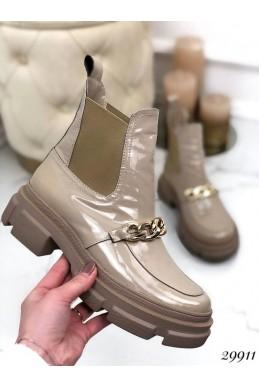 Ботинки челси Nina_mi демисезон с цепью,