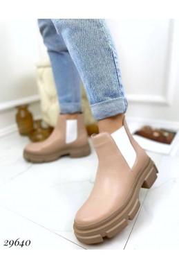 Ботинки челси без молнии