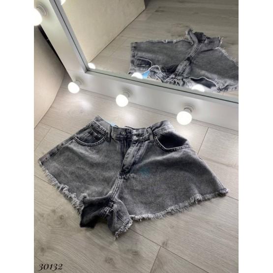 Джинсовые шорты-юбка