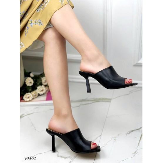 Шлепанцы на каблуке Nina_mi