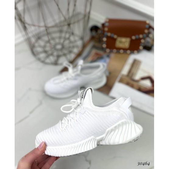 Кроссовки текстильные на шнурках