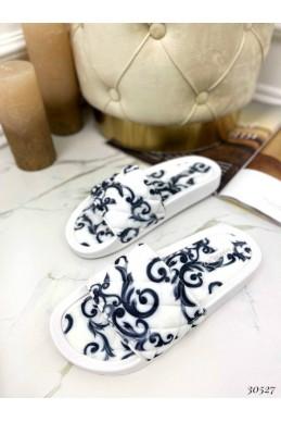 Шлепанцы текстильные