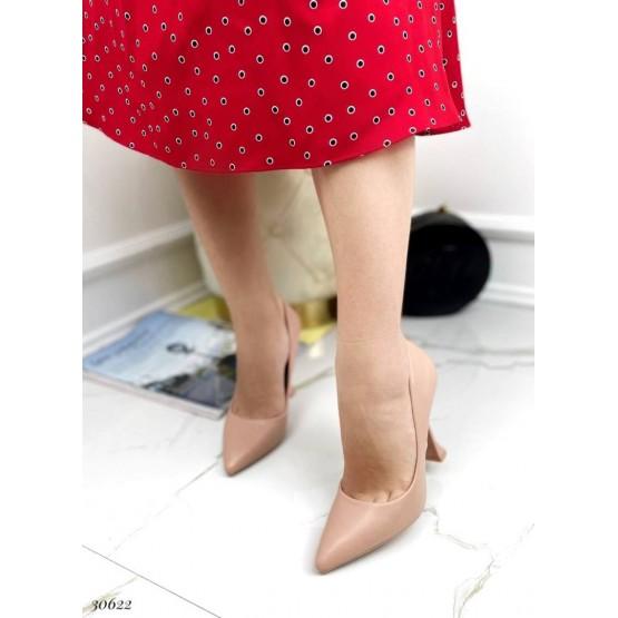 Туфли с узким носком,каблук рюмочка