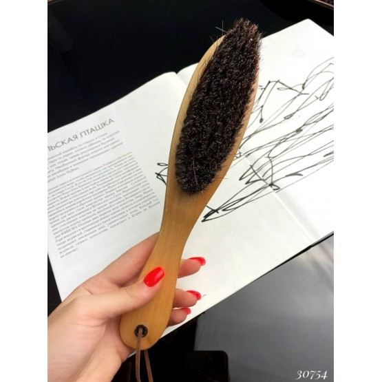 Щетка для обуви с длинной ручкой