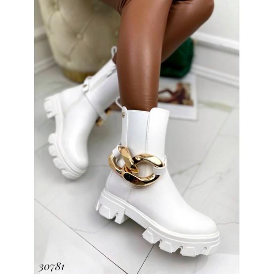 Ботинки челси на змейке