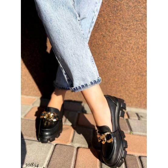 Туфли с цепями