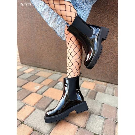 Ботинки челси высокие