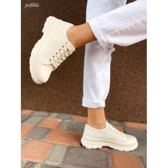 Кеды  низкие с резиновым носком
