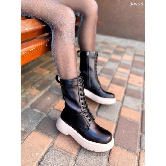 Высокие ботинки на шнуровке Nina Mi