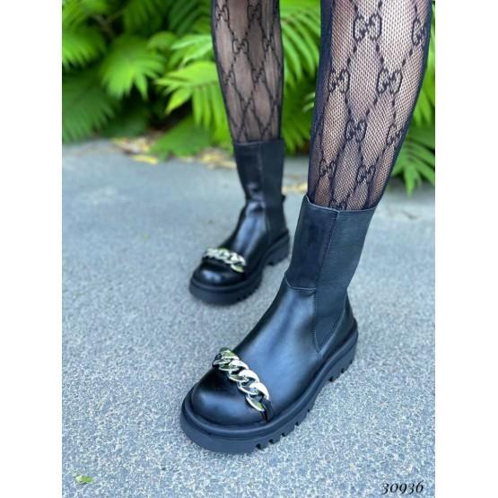 Ботинки челси Nina Mi с цепочкой демисезонные