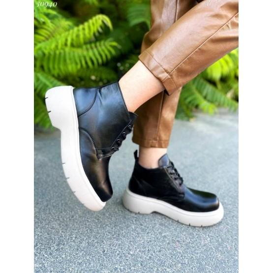 Ботинки демисезонные на шнурках Nina_Mi