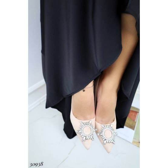 Туфли с укашением на носке