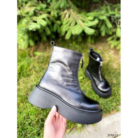 Ботинки Nina_Mi спереди на молнии