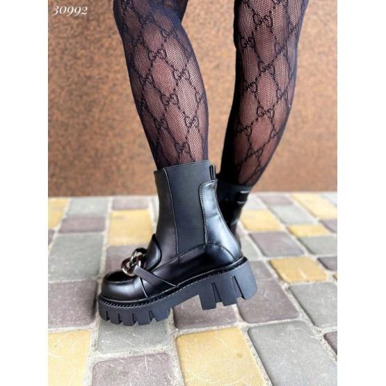 Ботинки челси с цепочкой