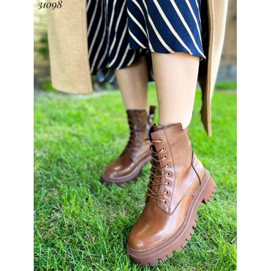 Ботинки демисезонные на шнуровке