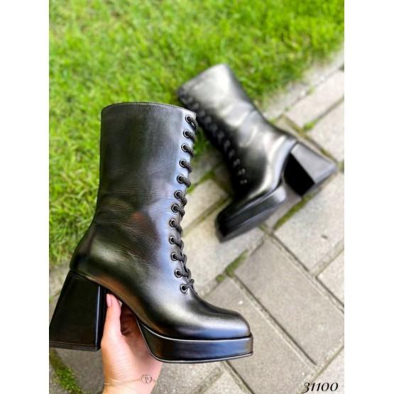 Полусапоги на  каблуке Nina Mi