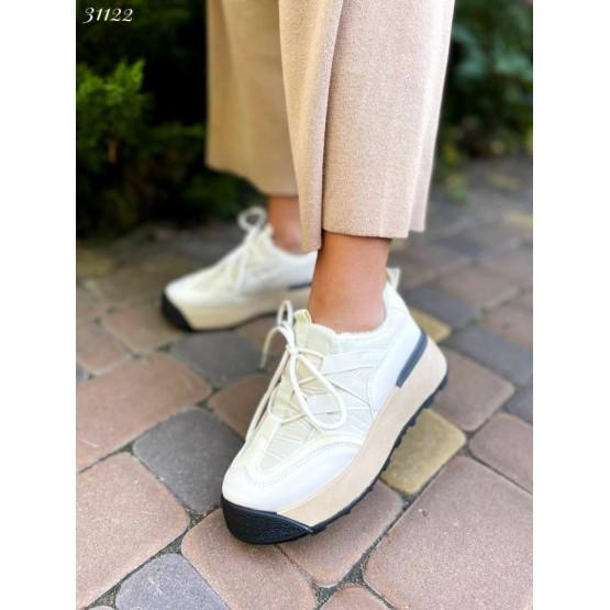 Кроссовки с мехом