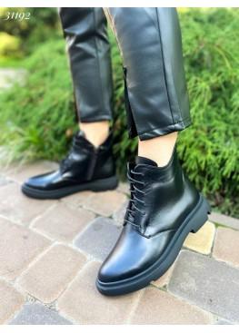 Ботинки  классика, на шнуровке.