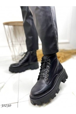 Ботинки короткие на шнуровке