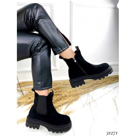 Ботинки челси зимние