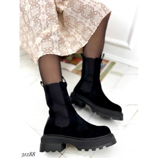 Ботинки челси высокие зимние
