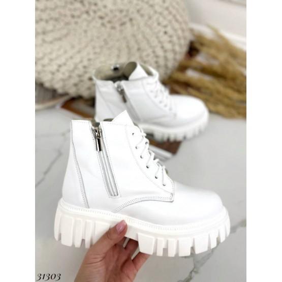 Ботинки зимние на молнии.