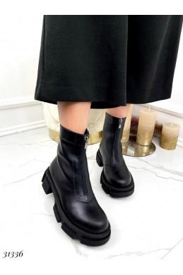 Ботинки демисезон,молния спереди