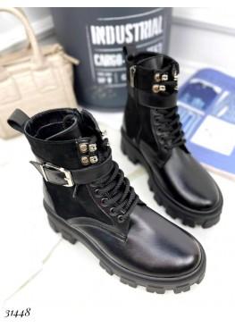 Ботинки с замшевыми вставками Nina Mi