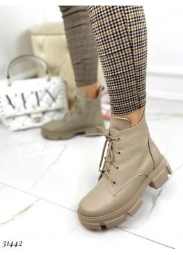Ботинки флотар зимние  на шнуровке