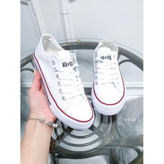 Демисезонная Кеды Кеды Converse реплика белый обувной  текстиль 19332 вьетнам 36(р)